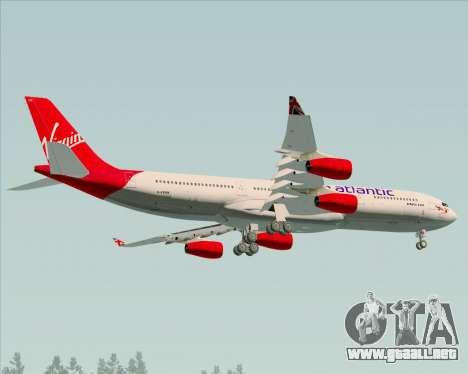 Airbus A340-313 Virgin Atlantic Airways para visión interna GTA San Andreas