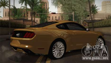 Ford Mustang GT 2015 para GTA San Andreas left