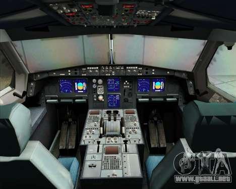 Airbus A340-313 Virgin Atlantic Airways para GTA San Andreas interior