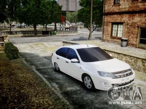 Lada Granta Liftback para GTA 4 left