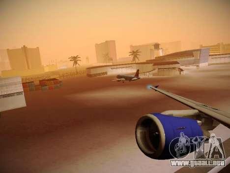 Airbus A320-214 TAM Airlines RIO para las ruedas de GTA San Andreas