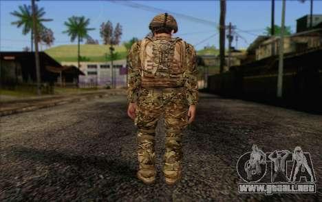 Soldados británicos (ArmA II: BAF) v3 para GTA San Andreas segunda pantalla