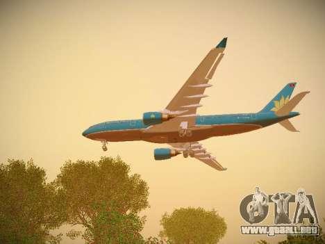 Airbus A330-200 Vietnam Airlines para el motor de GTA San Andreas