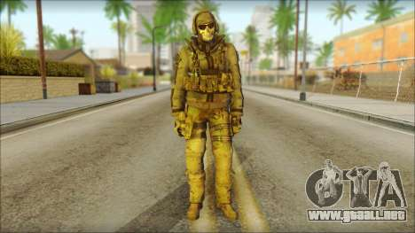 Latino Resurrection Skin from COD 5 para GTA San Andreas