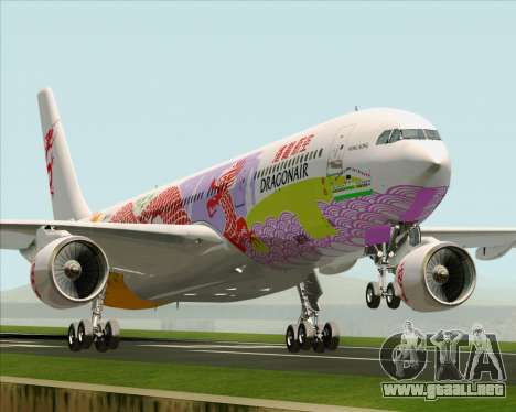 Airbus A330-300 Dragonair (20th Year Livery) para GTA San Andreas
