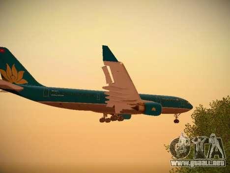Airbus A330-200 Vietnam Airlines para GTA San Andreas interior