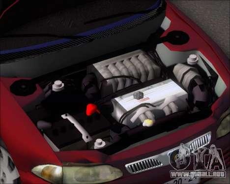 Proton Persona 1996 1.5 Gli para visión interna GTA San Andreas