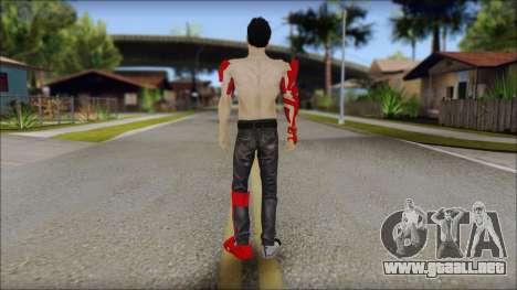 Stark Meshmod para GTA San Andreas segunda pantalla
