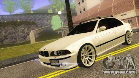 BMW M5 E39 2003 Stance para GTA San Andreas left