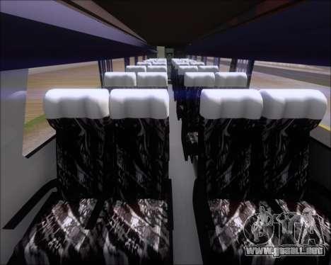 Marcopolo Paradiso G7 1050 Yellow Bus Line A-2 para visión interna GTA San Andreas