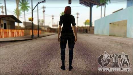 Mass Effect Anna Skin v4 para GTA San Andreas segunda pantalla