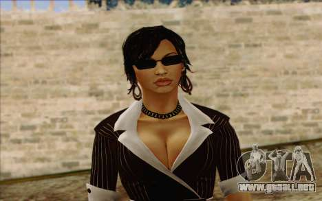 Candy from Batman Arkham Origins para GTA San Andreas tercera pantalla