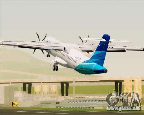 ATR 72-500 Garuda Indonesia Explore para el motor de GTA San Andreas