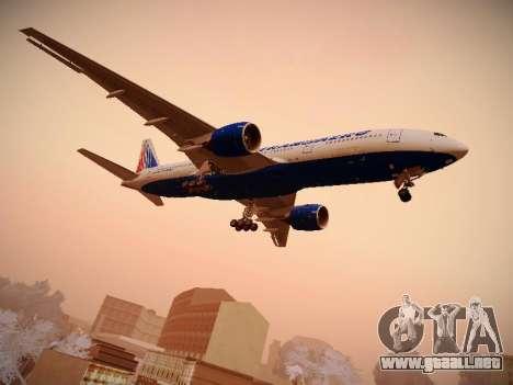 Boeing 777-212ER Transaero Airlines para la visión correcta GTA San Andreas