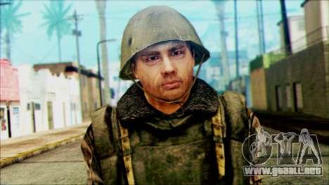 Soldado SA (WIC) para GTA San Andreas tercera pantalla