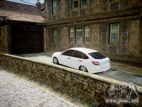 Lada Granta Liftback para GTA 4 Vista posterior izquierda