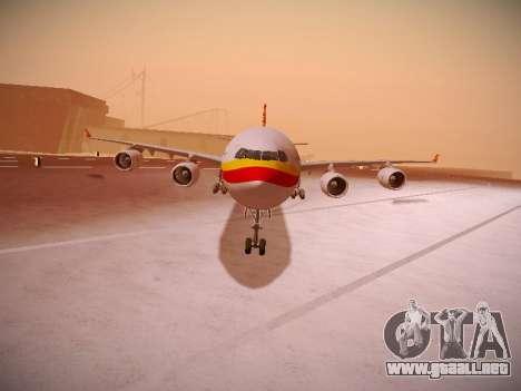 Airbus A340-600 Hainan Airlines para GTA San Andreas left