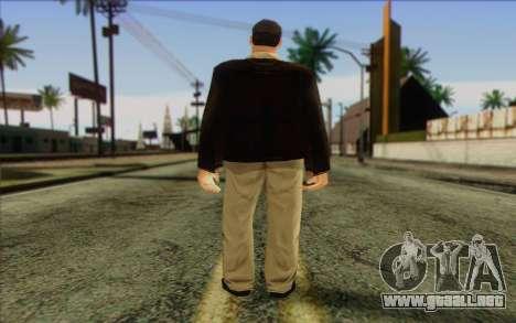 Russian Cats II Skin 2 para GTA San Andreas segunda pantalla