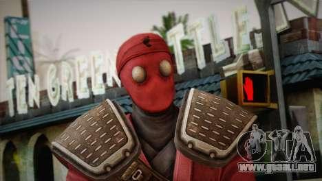 Foot Soldier Elite v1 para GTA San Andreas tercera pantalla