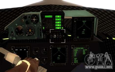 GTA 5 UFO para GTA San Andreas left