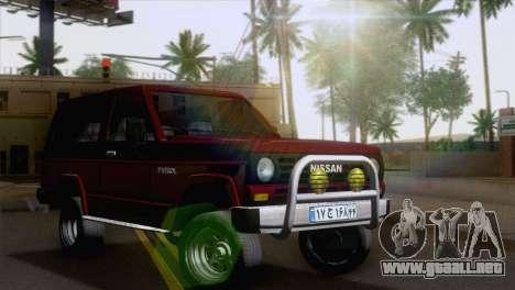 Nissan Patrol 2 Door para GTA San Andreas