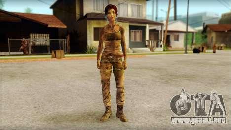 Tomb Raider Skin 10 2013 para GTA San Andreas