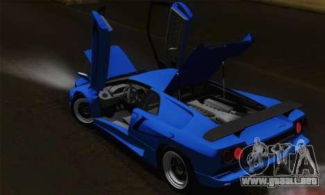 Lamborghini Diablo SV 1995 (HQLM) para GTA San Andreas interior