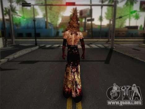 Pyramid Head From Silent Hill: Homecoming para GTA San Andreas segunda pantalla