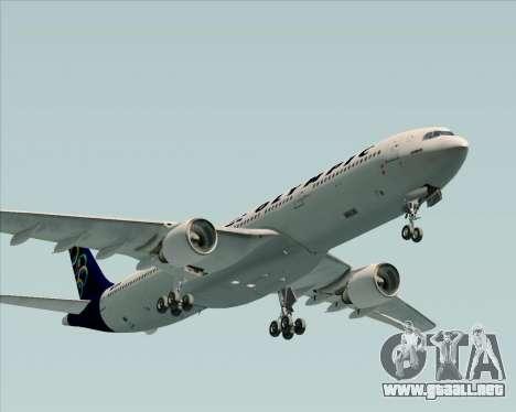 Airbus A330-300 Olympic Airlines para GTA San Andreas vista hacia atrás
