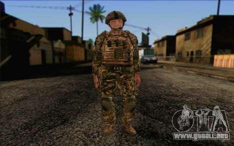 Soldados británicos (ArmA II: BAF) v3 para GTA San Andreas
