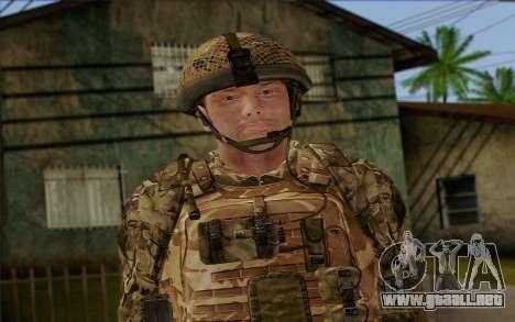 Soldados británicos (ArmA II: BAF) v3 para GTA San Andreas tercera pantalla