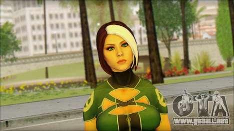 Rogue Deadpool The Game Cable para GTA San Andreas tercera pantalla
