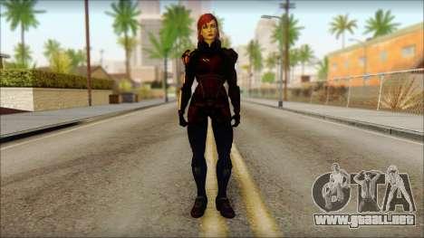 Mass Effect Anna Skin v2 para GTA San Andreas