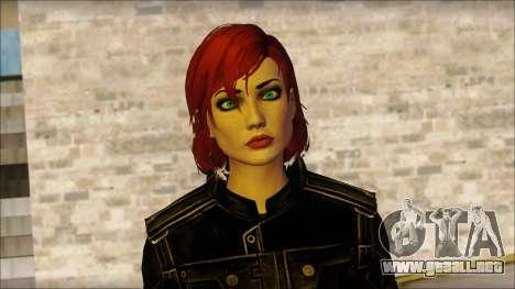 Mass Effect Anna Skin v4 para GTA San Andreas tercera pantalla