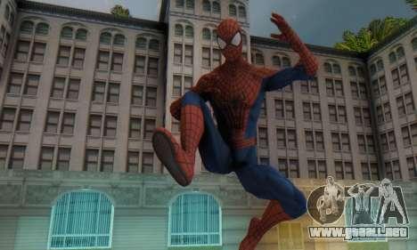 The Amazing Spider Man 2 Oficial Skin para GTA San Andreas segunda pantalla