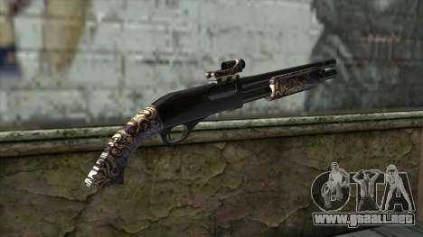 PurpleX Shotgun para GTA San Andreas segunda pantalla