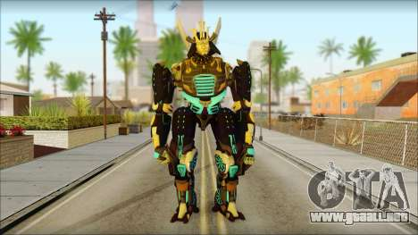 Дрифт (Transformers: el Aumento de la Oscuridad  para GTA San Andreas