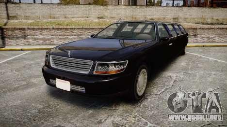 GTA V Albany Washington Limousine para GTA 4