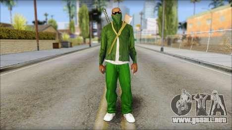 New CJ v5 para GTA San Andreas