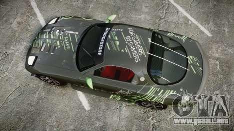 Mazda RX-7 Razer para GTA 4 visión correcta