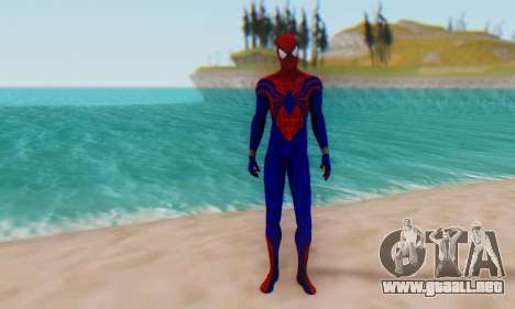 Skin The Amazing Spider Man 2 - Ben Reily para GTA San Andreas segunda pantalla