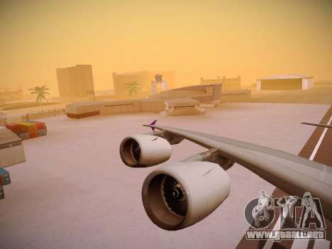 Airbus A380-800 Thai Airways International para el motor de GTA San Andreas