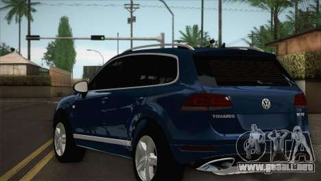 Volkswagen Touareg 2012 para GTA San Andreas left