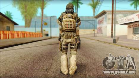 Veterano (M) v1 para GTA San Andreas segunda pantalla