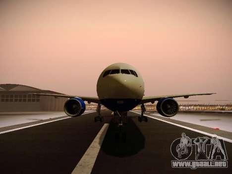 Boeing 777-212ER Transaero Airlines para las ruedas de GTA San Andreas