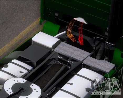 Mercedes-Benz Actros 3241 para la vista superior GTA San Andreas