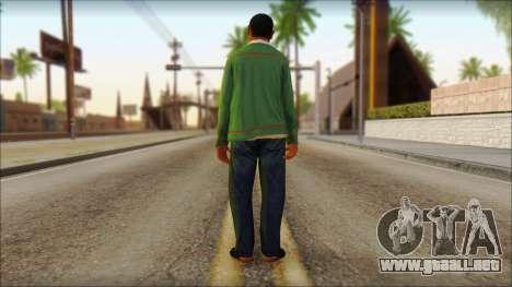GTA 5 Ped 11 para GTA San Andreas segunda pantalla