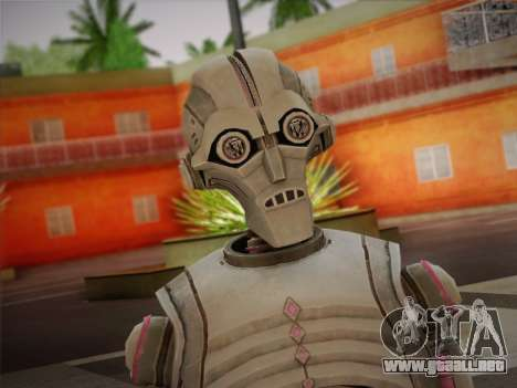 Kraang Robot para GTA San Andreas tercera pantalla