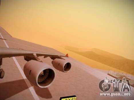Airbus A340-600 Hainan Airlines para GTA San Andreas interior