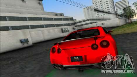 Nissan GT-R Prototype para GTA Vice City left